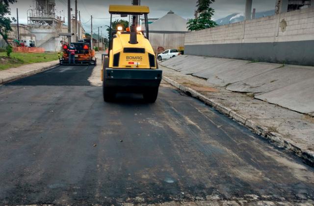Serviços de pavimentação em Cubatão